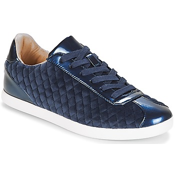 Zapatos Mujer Zapatillas bajas André VELVET Azul
