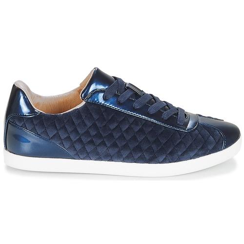 Mujer Velvet Bajas André Zapatos Azul Zapatillas TlJK13Fc