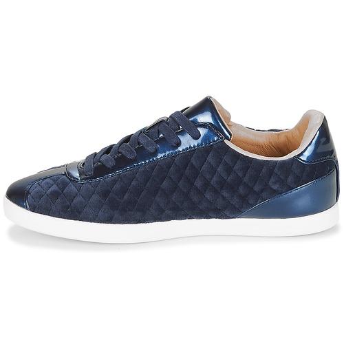Mujer Azul Velvet Zapatillas Bajas André Zapatos 0nwPvymN8O
