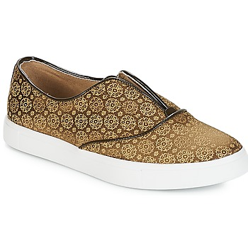 Zapatos Mujer Slip on André ROYAUME Kaki