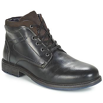 Zapatos Hombre Botas de caña baja André PRAO Negro