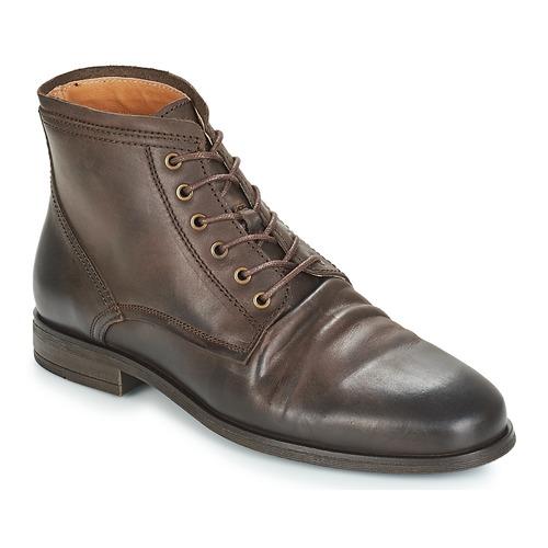 Zapatos Hombre Botas de caña baja André INVENTEUR Marrón