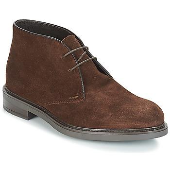 Zapatos Hombre Botas de caña baja André BOHEME Marrón