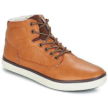 Zapatos Hombre Zapatillas altas André QUARTER Camel