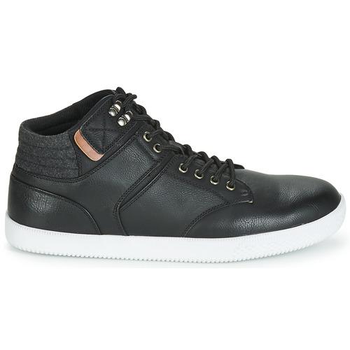 Negro Zapatillas Hombre Altas Rappeur Zapatos André Yv76bfgy