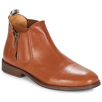 Zapatos Hombre Botas de caña baja André BARYTON Camel