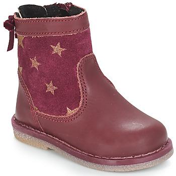 Zapatos Niña Botas de caña baja André PARME Burdeo
