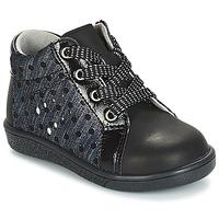 Zapatos Niña Botas de caña baja André POIS Negro