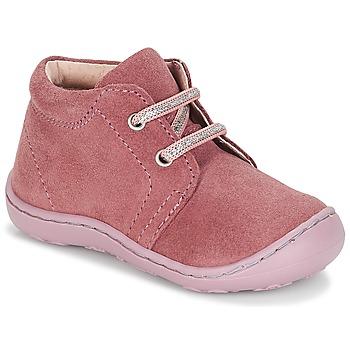 Zapatos Niña Botas de caña baja André PALE Rosa