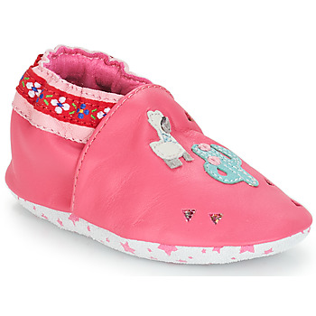Zapatos Niña Pantuflas para bebé André PERUVIENNE Rosa