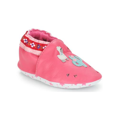 André PERUVIENNE Rosa - Envío gratis | ! - Zapatos Pantuflas para bebé Nino