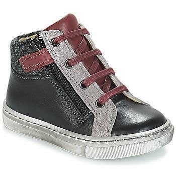 Zapatos Niño Botas de caña baja André CORBEAU Negro