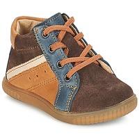 Zapatos Niño Botas de caña baja André W Marrón