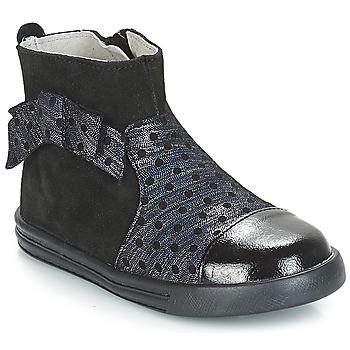 Zapatos Niña Botas de caña baja André NUIT Negro