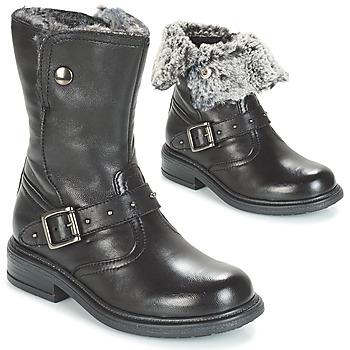 Zapatos Niña Botas de caña baja André GIBOULEE Negro