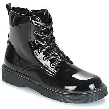 Zapatos Niña Botas de caña baja André ROCKABILLY Negro
