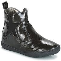 Zapatos Niña Botas de caña baja André FURY Negro