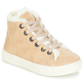 Zapatos Niña Zapatillas altas André TRICOT Beige