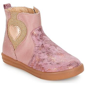 Zapatos Niña Botas de caña baja André MAUVE Rosa