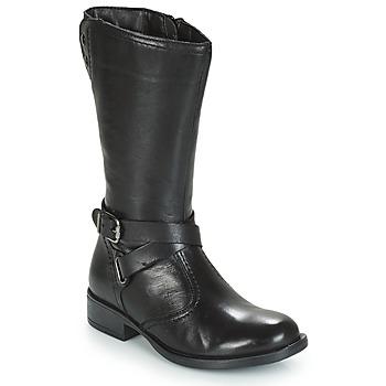 Zapatos Niña Botas urbanas André HIVER Negro