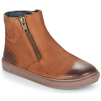 Zapatos Niño Botas de caña baja André CUMIN Marrón