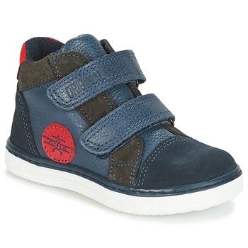 Zapatos Niño Zapatillas altas André JET Azul