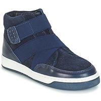 Zapatos Niño Botas de caña baja André CUBE Marino