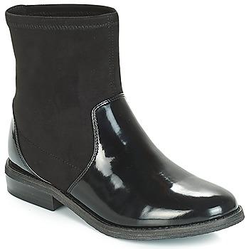 Zapatos Niña Botas de caña baja André VALENTINA Negro