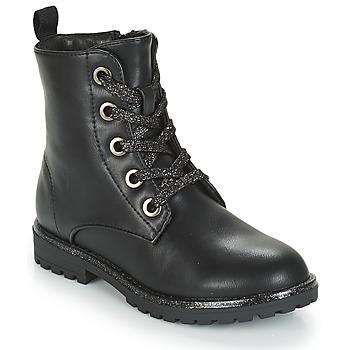 Zapatos Niña Botas de caña baja André CLAPTON Negro