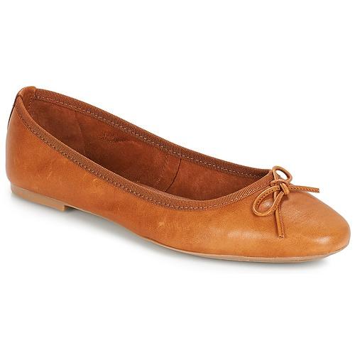 André PIETRA Marrón - Envío gratis | ! - Zapatos Bailarinas Mujer