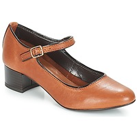 Zapatos Mujer Bailarinas-manoletinas André FOLLOW Marrón