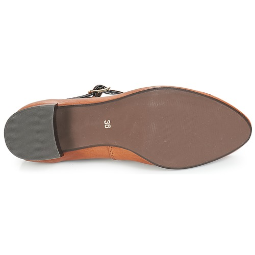Zapatos manoletinas André Mujer Follow Bailarinas Marrón 1KcuJ3lFT