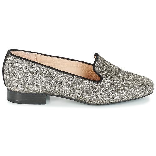 Atomic Mujer Bailarinas manoletinas Plata Zapatos André F1cTlKJ