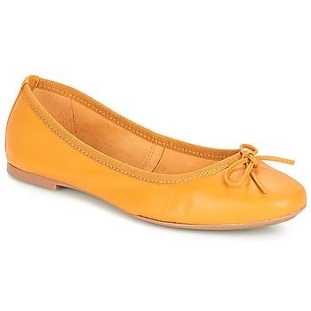 Zapatos Mujer Bailarinas-manoletinas André PIETRA Amarillo