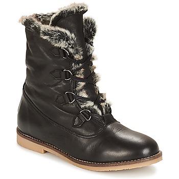 Zapatos Mujer Botas de caña baja André CHAMONIX Negro