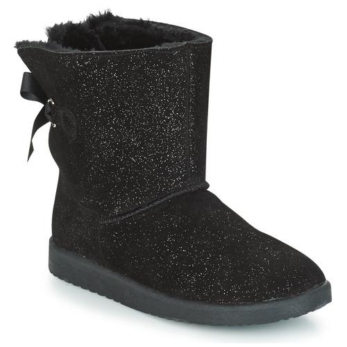 Mujer André Caña Toudou Negro Baja Botas Zapatos De tCxdQshr
