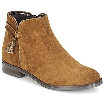 Zapatos Mujer Botas de caña baja André BILLY Marrón