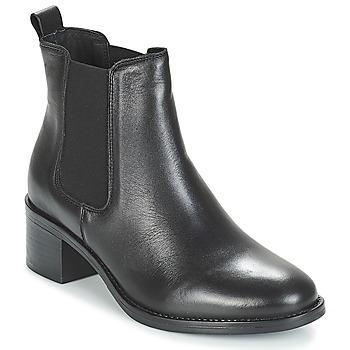 Zapatos Mujer Botas de caña baja André CRUMBLE Negro