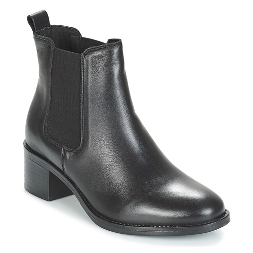 André CRUMBLE Negro - Envío gratis | ! - Zapatos Botas de caña baja Mujer