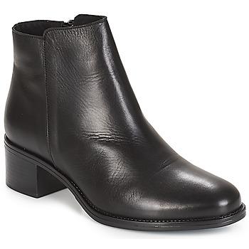 Zapatos Mujer Botas de caña baja André CREDO Negro