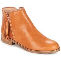 Zapatos Mujer Botas de caña baja André PAOLINE Marrón