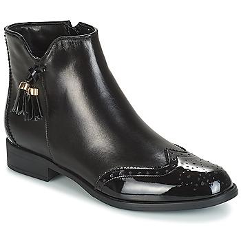 Zapatos Mujer Botas de caña baja André ALINA Negro