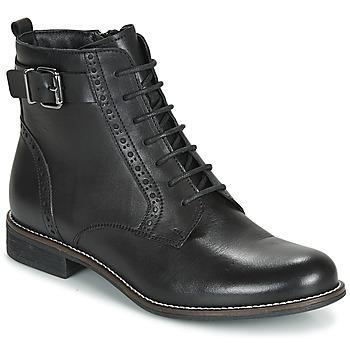 Zapatos Mujer Botas de caña baja André CHEPTELA Negro