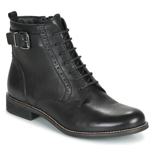 André CHEPTELA Negro - Envío gratis | ! - Zapatos Botas de caña baja Mujer