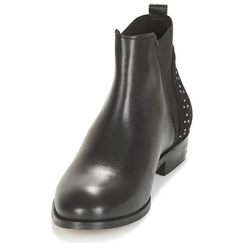 Botas Zapatos De André Baja Negro Mujer Caña Tandi 67yYbfg