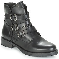 Zapatos Mujer Botas de caña baja André TONYA Negro