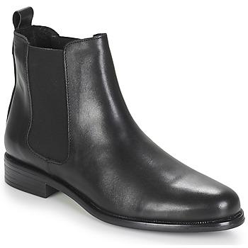 Zapatos Mujer Botas de caña baja André CARAMEL Negro