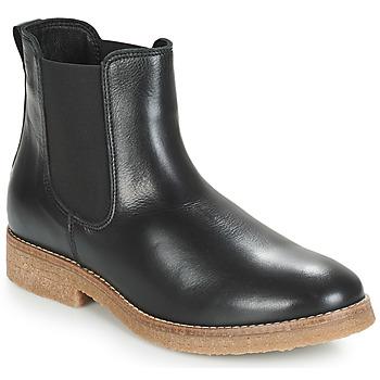 Zapatos Mujer Botas de caña baja André THELA Negro