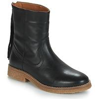 Zapatos Mujer Botas de caña baja André THEO Negro