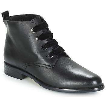 Zapatos Mujer Botas de caña baja André THAO Negro